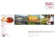 Mediadaten 2013/14 MaG a Zin BOOK Le t - Beste Österreichische ...