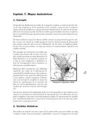 Capítulo 7. Mapas dasimétricos - RedGeomatica
