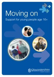 Moving on - Wyedean School and Sixth Form Centre