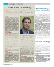 Interview mit Dr. Axel Berg - wp-net