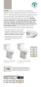 TOILETS - American Standard - Page 6