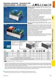 Regolatore industriale - Comando 0÷10V Industrial dimmer ... - Relco