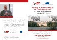 Einladung als PDF (510 KByte) - Leopold Kohr Akademie