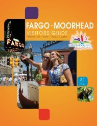 2011 visitor guides - Fargo-Moorhead Convention and Visitor's Bureau