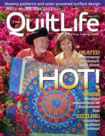 The August Centerfold - Quilt Views & News