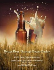 Better Beer Through Better Barley - Western Barley Growers ...