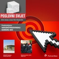 Newsletter Poslovne mreže - ProCredit