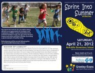 Sprint into Summer 5K brochure.ai - Greeley Schools