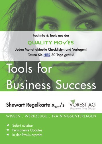 Shewart Regelkarte xquer/s - Vorest AG