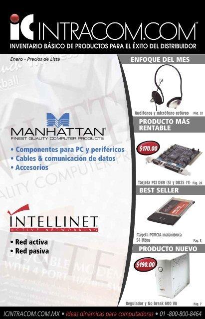 Tarjetas de red - IC Intracom
