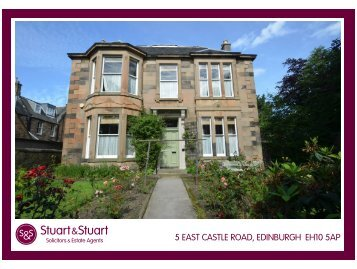 5 EAST CASTLE ROAD, EDINBURGH EH10 5AP - Stuart & Stuart
