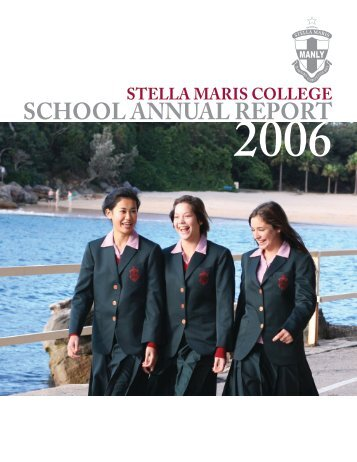 SCHOOL ANNUAL REPORT - Stella Maris College