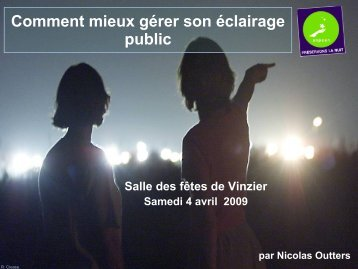vinzier eclairage pu.. - Nicolas Outters