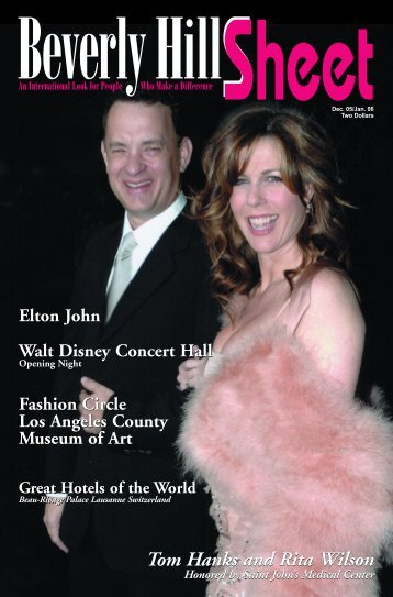 Tom Hanks and Rita Wilson Tom Hanks and Rita Wilson