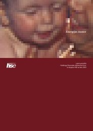 Letno poročilo HSE 2003