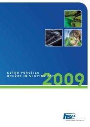 Letno poročilo HSE 2009