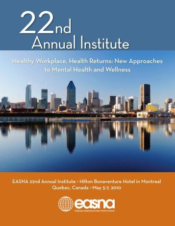Annual Institute - EASNA