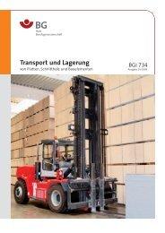 Transport und Lagerung - BGHM