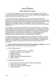4 Scheme of Delegation Bishop Wordsworth's School 1. This ...