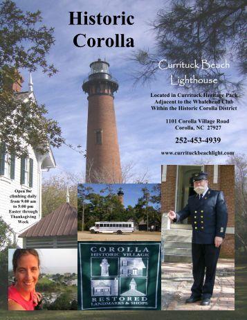 Historic Corolla - Historic Albemarle Tour