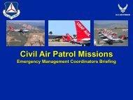 Civil Air Patrol Missions - Virginia Department of Emergency ...