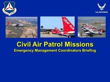 Civil Air Patrol Missions   Virginia Department Of Emergency .