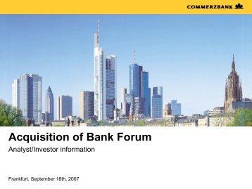 Folie 1 - Commerzbank AG