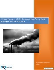 Getting Warmer: US CO2 Emissions from Power Plants Emissions ...