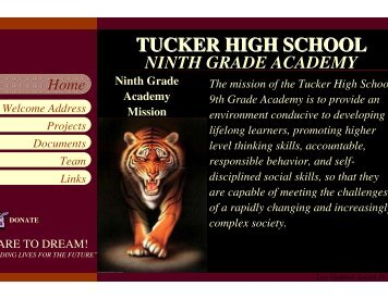 TUCKER HIGH SCHOOL - DeKalb County Schools