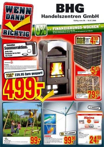 FINANZIERUNGS-WOCHEN - BHG Handelszentren GmbH