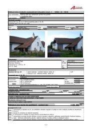 1 - Odhad tržní hodnoty nemovitosti (obvyklé ceny) č. 1098 / 8 / 2010 ...