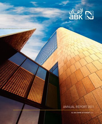AnnuAl RepoRt 2011 - ABK