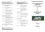DET 22. LANDSSYMPOSIUM I NEONATOLOGI 3. – 5 ... - Lif-udstilling