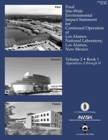 Front Matter and Table of Contents - National Nuclear Security ...