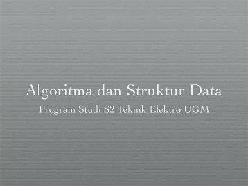 Algoritma dan Struktur Data 2 - Teknik Elektro UGM