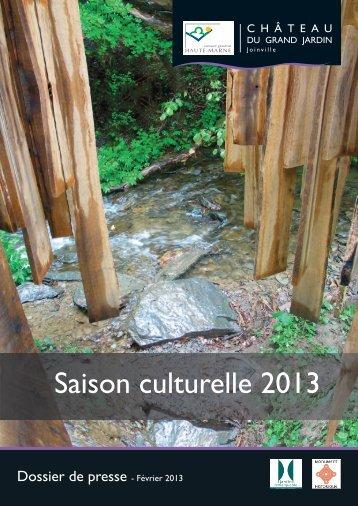 Saison culturelle 2013 - Haute-Marne