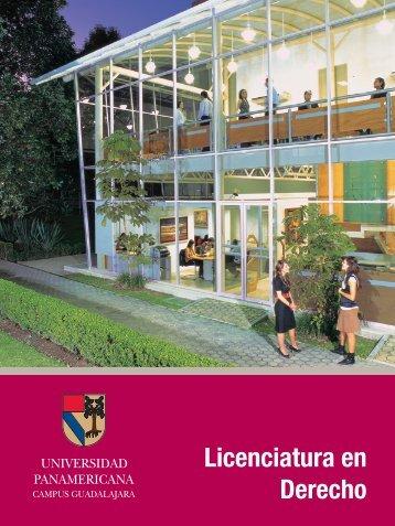 Licenciatura en Derecho - Universidad Panamericana