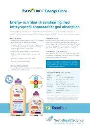 Ladda ner produktfaktablad (pdf) - Nestlé Nutrition