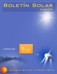 las energías renovables. - Asociación Nacional de Energía Solar
