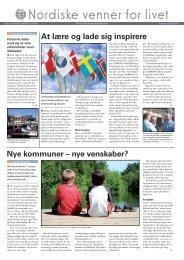 Nordiske venner for livet - Foreningen Norden