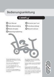 Bedienungsanleitung - Bikershop