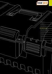 DesignLine ToolBoxLine Contractor Line HeavyDutyLine ...