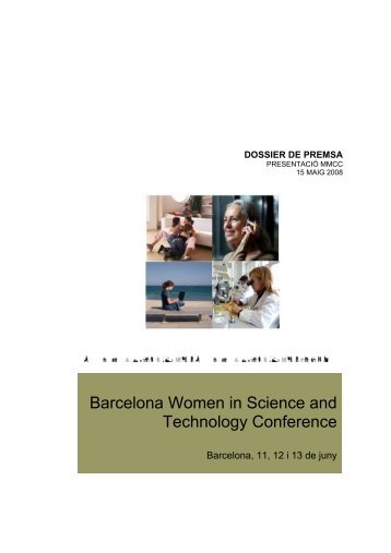 Barcelona Women in Science and Technology ... - 22@ Barcelona