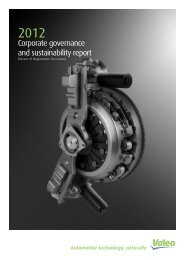 Corporate governance and sustainability report