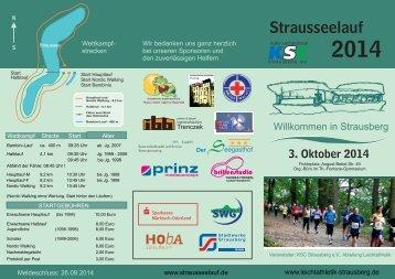Teilnahmebedingungen - Strausseelauf