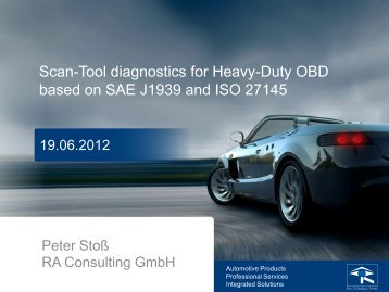 Scan-Tool diagnostics for HD-OBD - ASAM