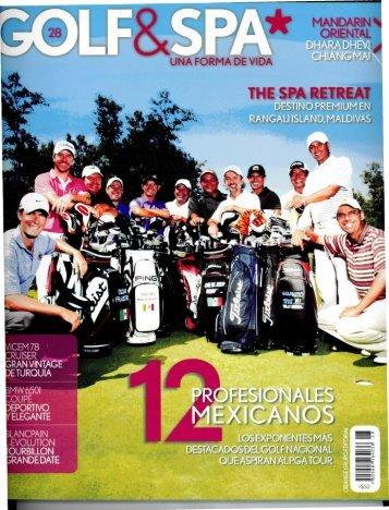 Guillermo Bernal-- Destacado jugador de Golf ... - El Cid Resorts
