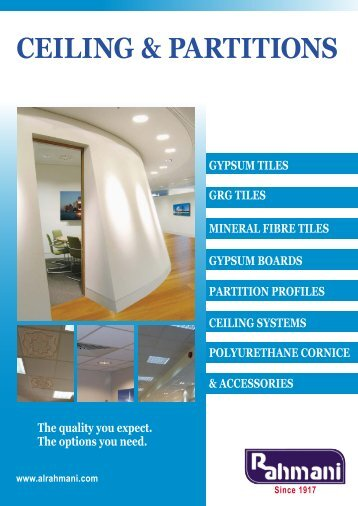 CEILING & PARTITIONS - AEC Online