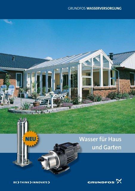 Grundfos WASSERVERSORGUNG - Birchmeier AG