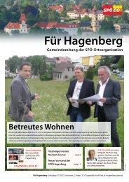 Für Hagenberg - Juni 2012 - SPÖ Oberösterreich
